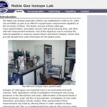 Noble Gas Laboratory