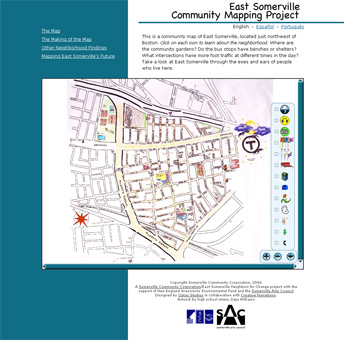 Somerville Community Map